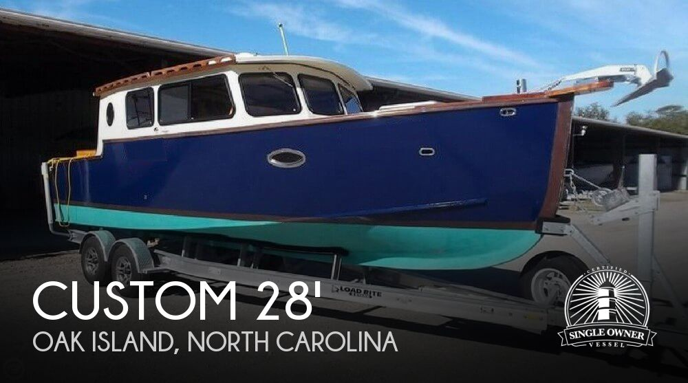 2016 Custom boat for sale, model of the boat is Bluejacket 28 & Image # 1 of 40