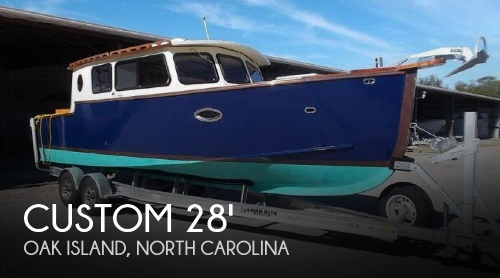 Used Boats For Sale in Wilmington, North Carolina by owner | 2016 Custom Bluejacket 28
