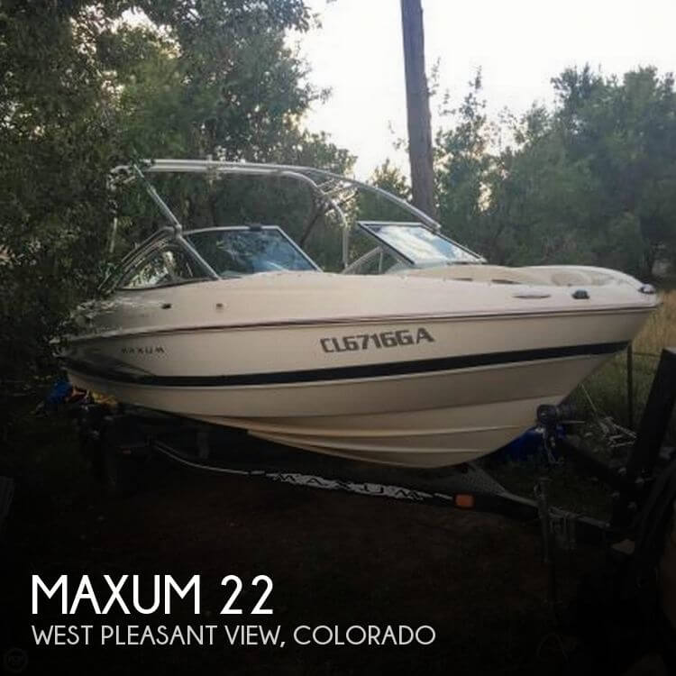 Used Boats For Sale in Fort Collins, Colorado by owner | 2006 Maxum 22
