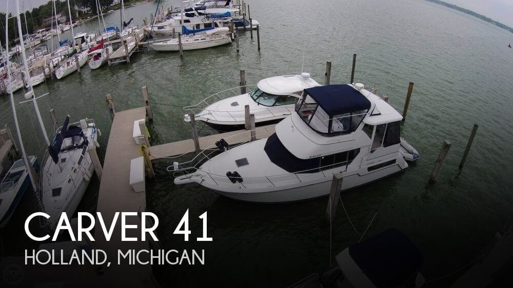 Used Boats For Sale in Grand Rapids, Michigan by owner | 1995 Carver 41
