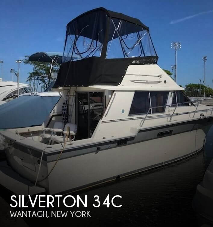 Used Silverton Boats For Sale in New York by owner | 1988 Silverton 34