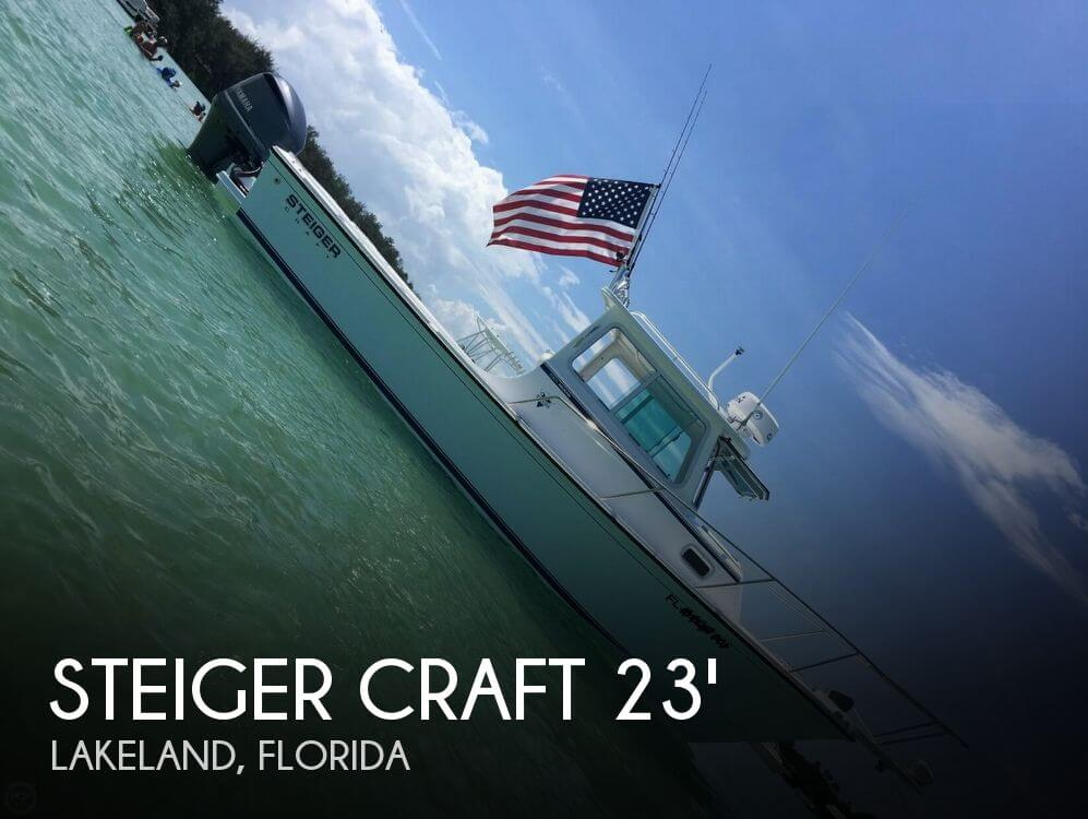 Used Boats For Sale in Deltona, Florida by owner   2017 Steiger Craft 23DV Miami