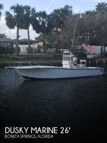 Used Dusky Marine Boats For Sale by owner | 1991 Dusky Marine 26
