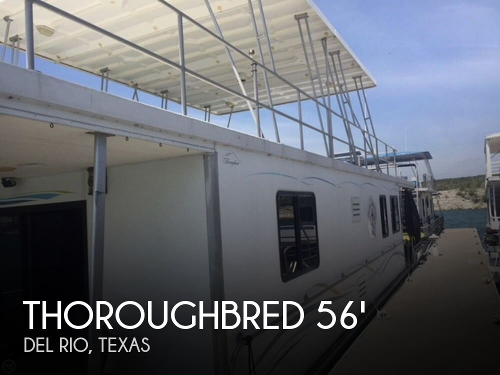 Used Houseboats For Sale by owner | 2001 Thoroughbred 56