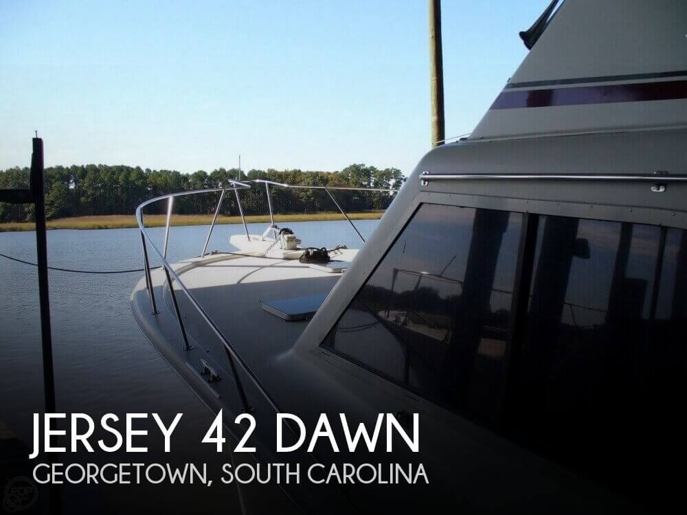 Used Jersey Boats For Sale by owner | 1989 Jersey 42