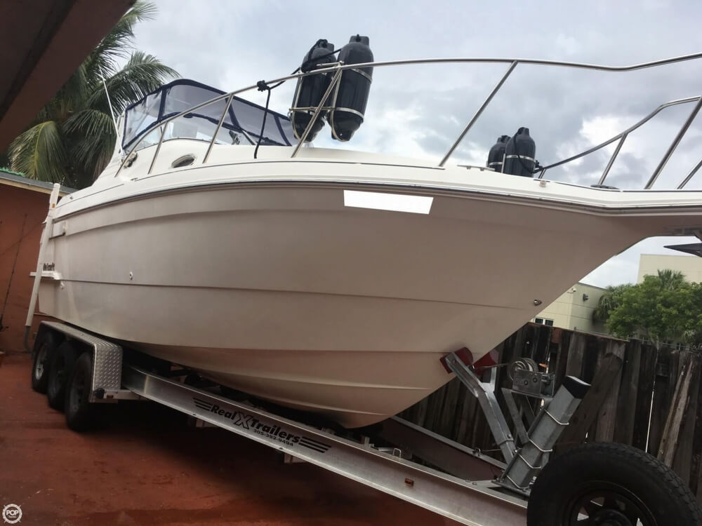 1999 Wellcraft boat for sale, model of the boat is 2800 Martinique & Image # 4 of 40