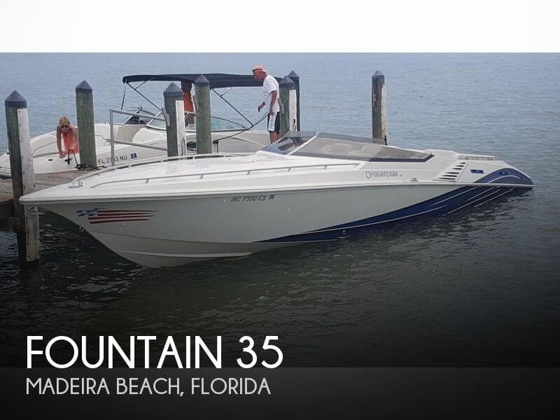 Used Fountain Boats For Sale by owner | 2007 Fountain 35