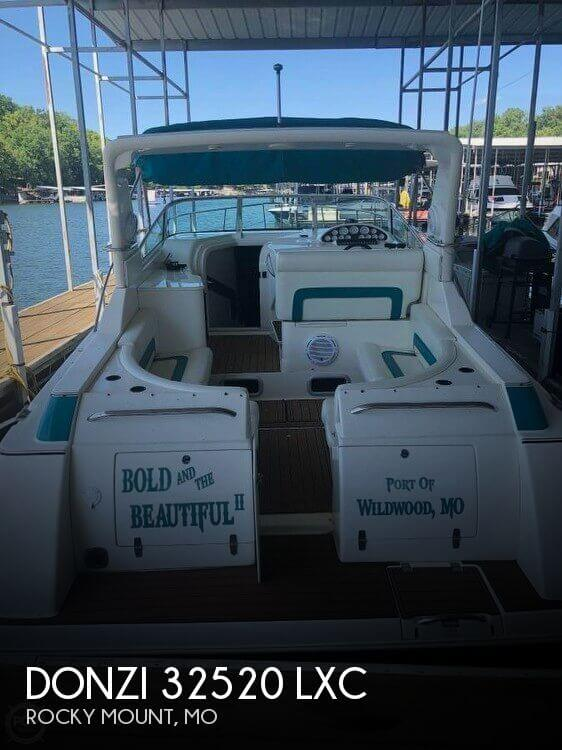Used DONZI Boats For Sale by owner | 1998 Donzi 37