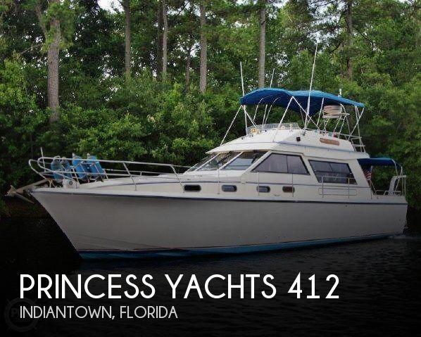 1983 PRINCESS YACHTS 412 2 for sale