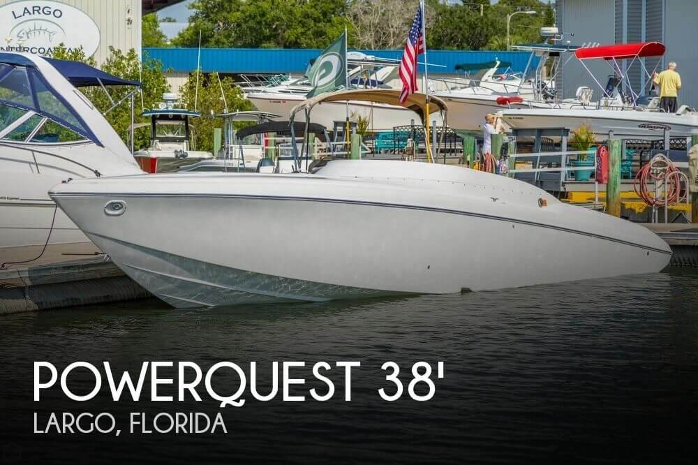 Used Powerquest Boats For Sale by owner | 2001 Powerquest 38 Avenger