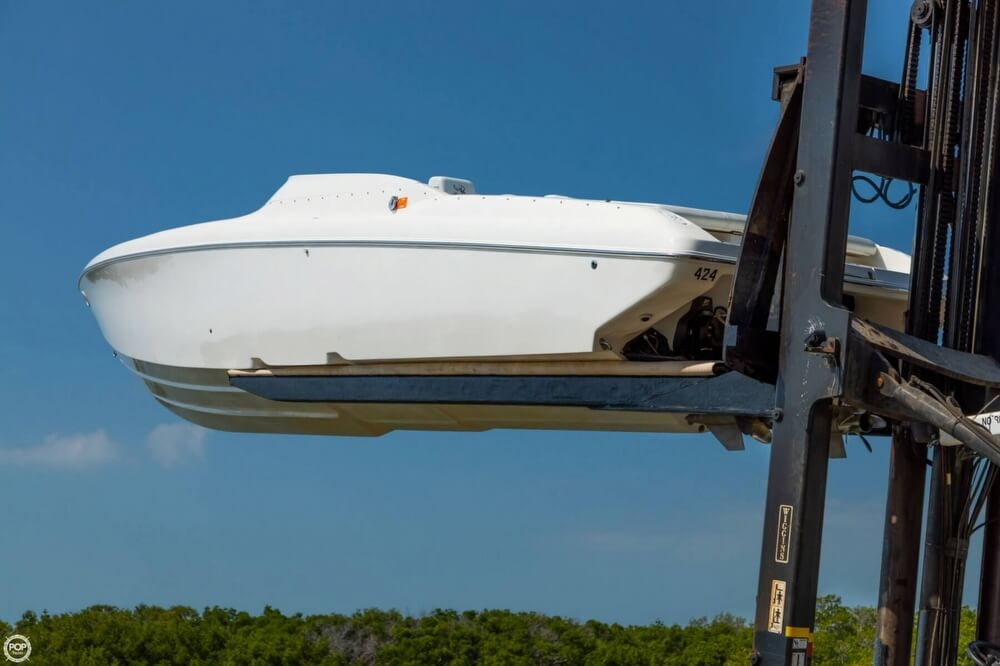 2001 Powerquest boat for sale, model of the boat is 380 Avenger & Image # 28 of 40