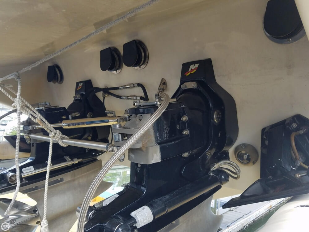 2001 Powerquest boat for sale, model of the boat is 380 Avenger & Image # 33 of 40