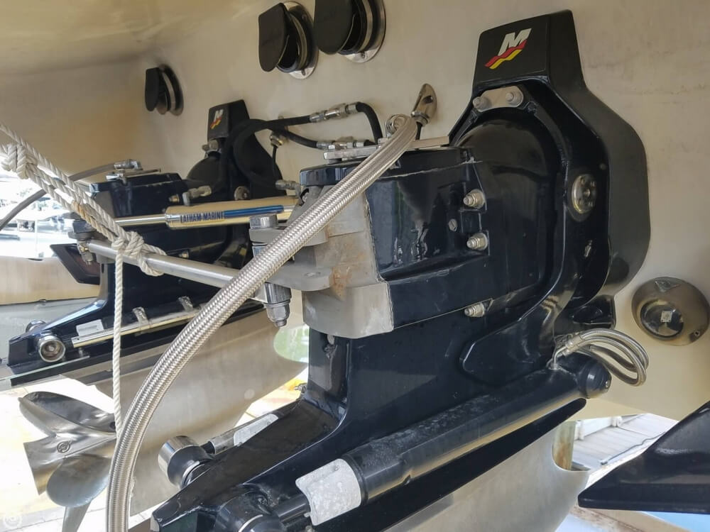 2001 Powerquest boat for sale, model of the boat is 380 Avenger & Image # 35 of 40