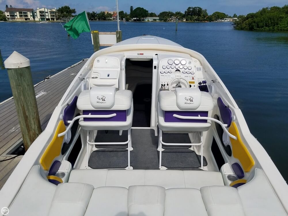 2001 Powerquest boat for sale, model of the boat is 380 Avenger & Image # 3 of 40