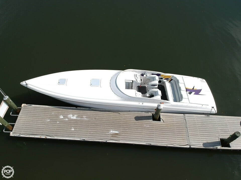 2001 Powerquest boat for sale, model of the boat is 380 Avenger & Image # 6 of 40