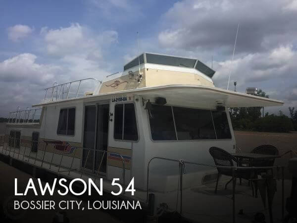 Used Houseboats For Sale in Louisiana by owner | 1985 Lawson 54