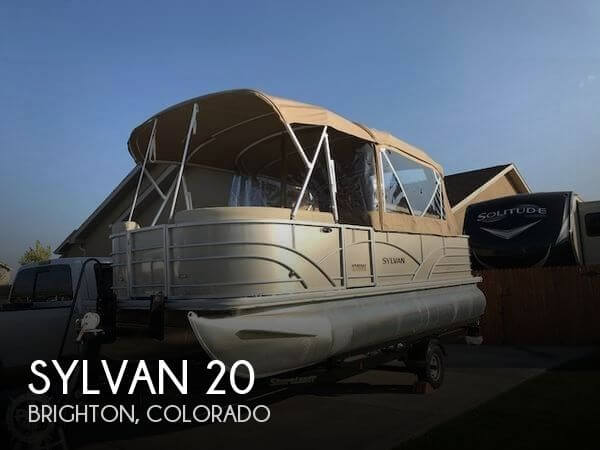 Used Sylvan Pontoon Boats For Sale by owner | 2018 Sylvan 20