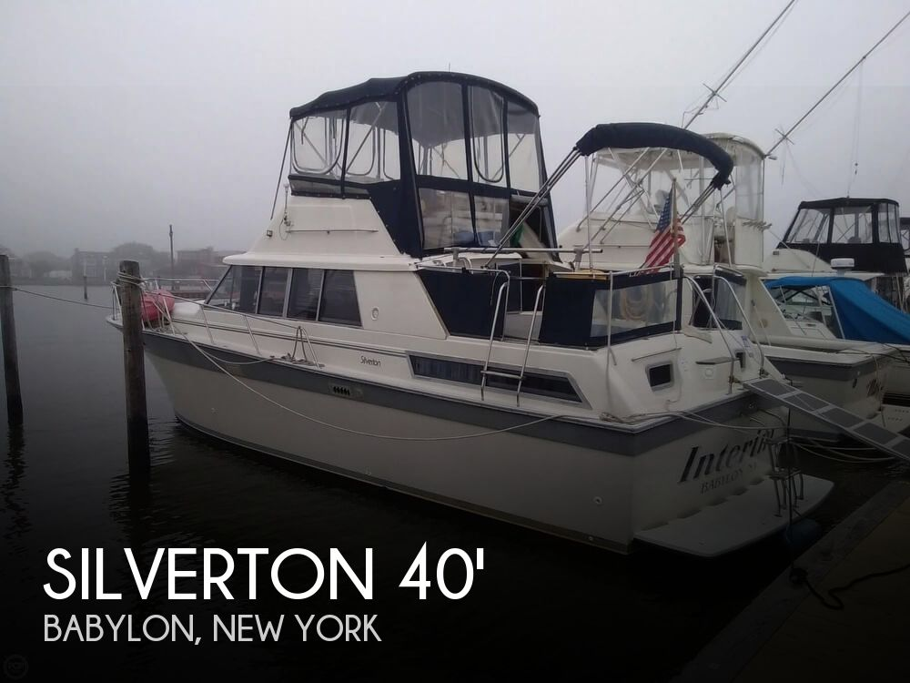 Used Silverton Boats For Sale in New York by owner | 1988 Silverton 40
