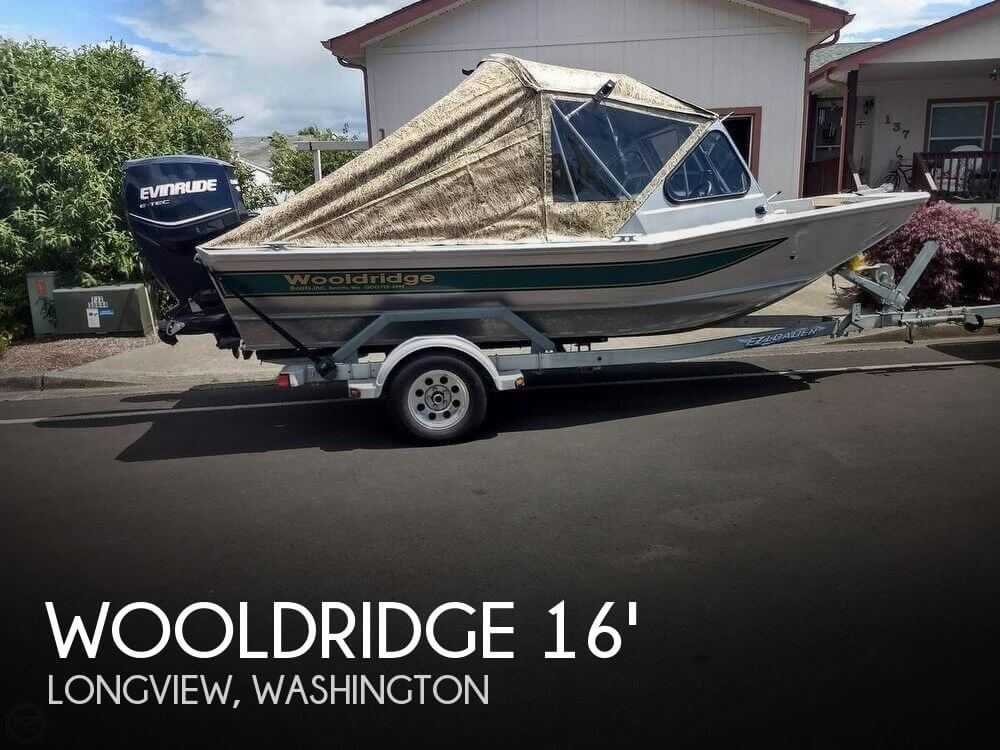 Used Fishing boats For Sale in Washington by owner | 2010 Wooldridge 16