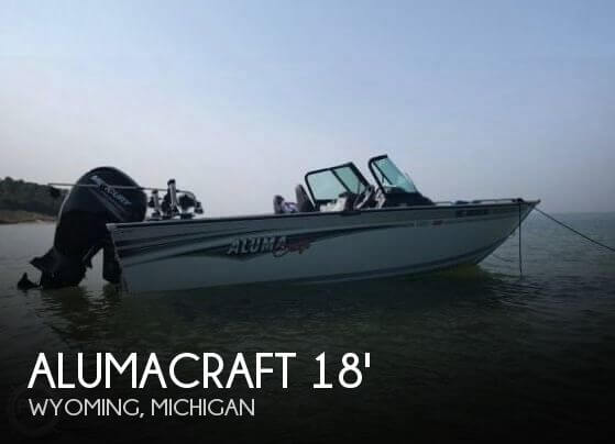 Used Boats For Sale in Grand Rapids, Michigan by owner | 2017 Alumacraft 18