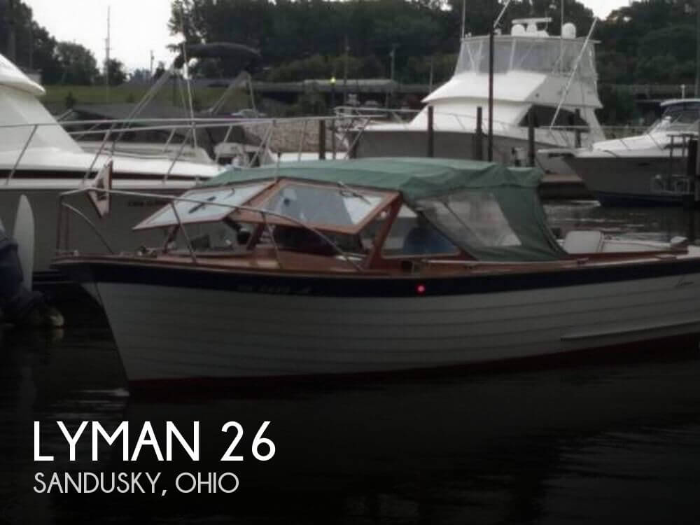 Used Lyman Boats For Sale by owner | 1968 Lyman 26