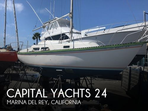 Used Capital Yachts Boats For Sale by owner | 1981 Capital Yachts 24