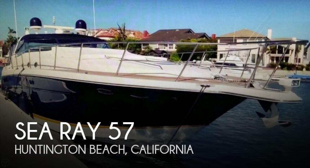 Used Sea Ray Boats For Sale in California by owner | 1999 Sea Ray 57