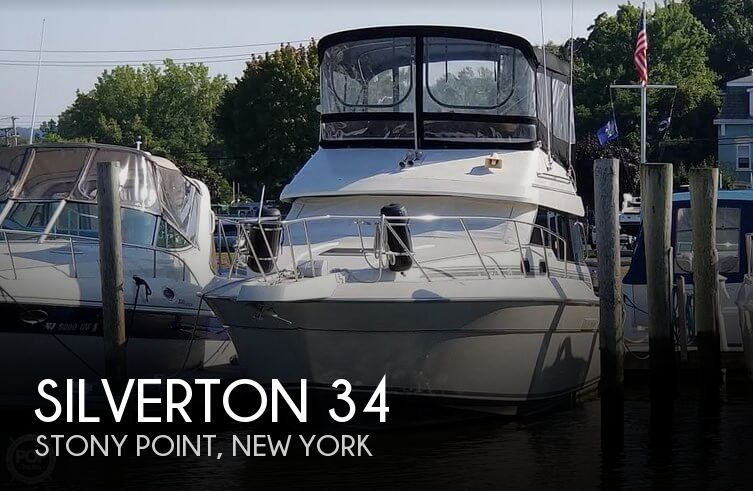 Used Silverton Boats For Sale in New York by owner | 1989 Silverton 35