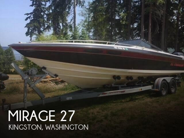 Used High Performance Boats For Sale in Washington by owner | 1987 Mirage 27