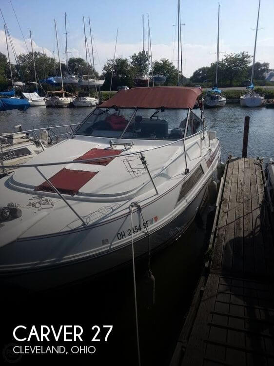 Used Carver 27 Boats For Sale by owner | 1989 Carver 27
