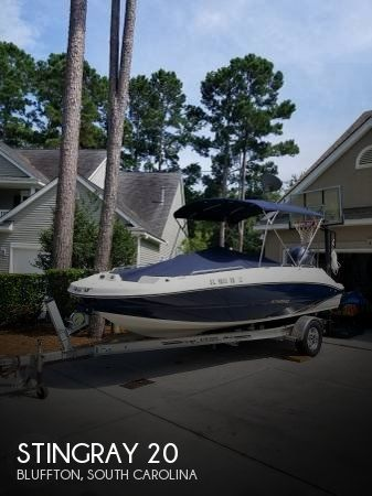 Used Deck Boats For Sale in South Carolina by owner | 2016 Stingray 20