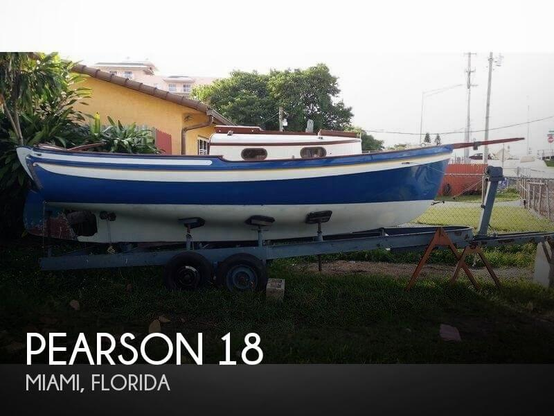 Used Pearson Sailboats For Sale by owner | 1965 Pearson 18