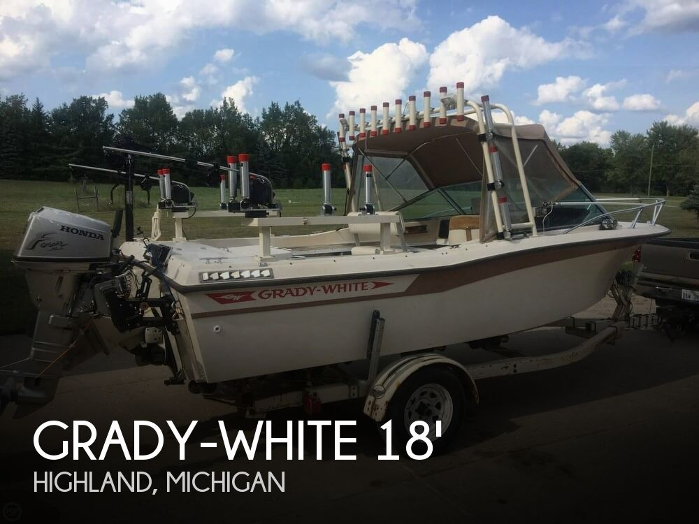 1982 Grady-White boat for sale, model of the boat is 196 Atlantic & Image # 1 of 40