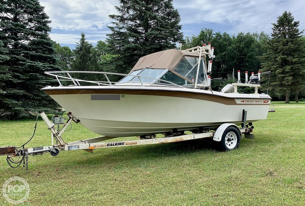 1982 Grady-White boat for sale, model of the boat is 196 Atlantic & Image # 2 of 40