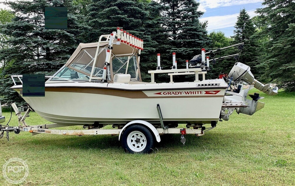 1982 Grady-White boat for sale, model of the boat is 196 Atlantic & Image # 3 of 40