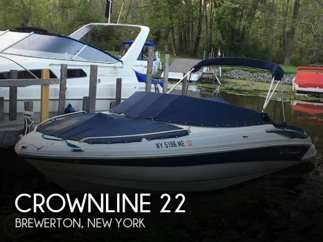 Used Ski Boats For Sale in New York by owner | 2008 Crownline 22