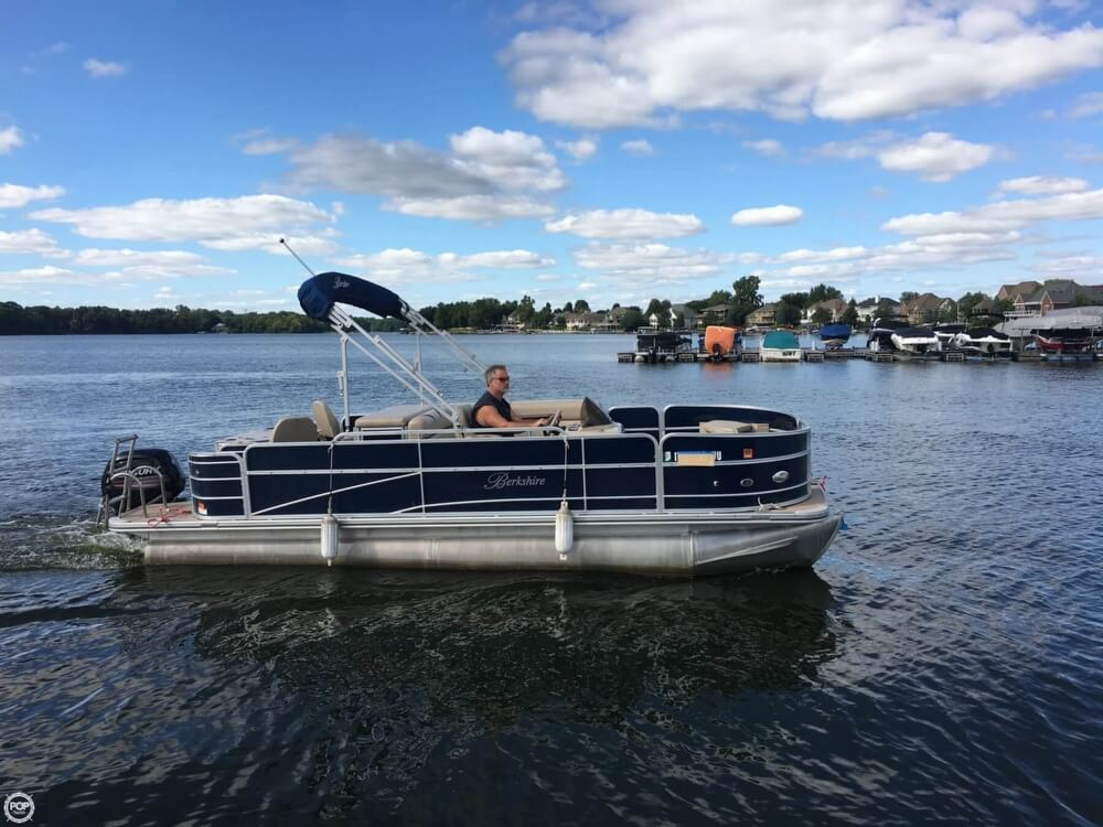 2015 Berkshire Pontoons boat for sale, model of the boat is CTS 212A & Image # 2 of 41
