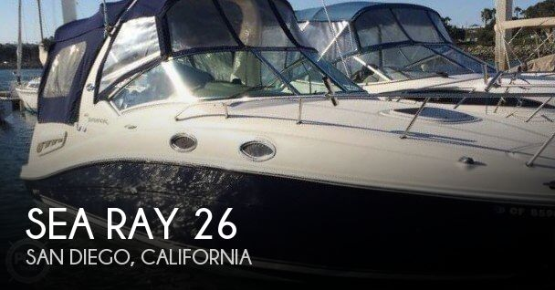 Used Sea Ray Boats For Sale in California by owner | 2006 Sea Ray 26