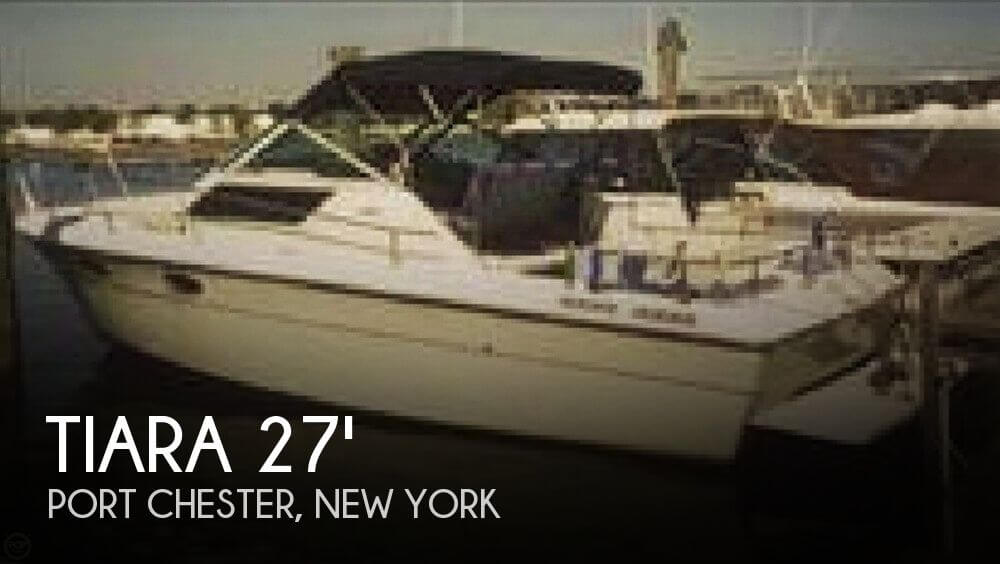 Used Tiara Power boats For Sale in Hartford, Connecticut by owner | 1986 Tiara 27