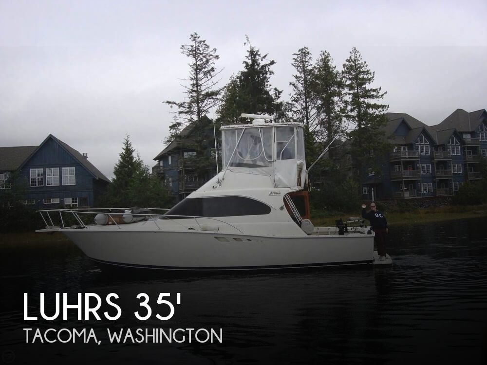 Used Fishing boats For Sale in Washington by owner | 1992 Luhrs 37