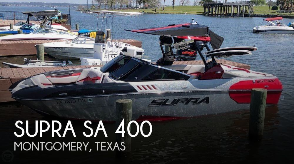 Used Boats For Sale in Houston, Texas by owner | 2016 Supra 23