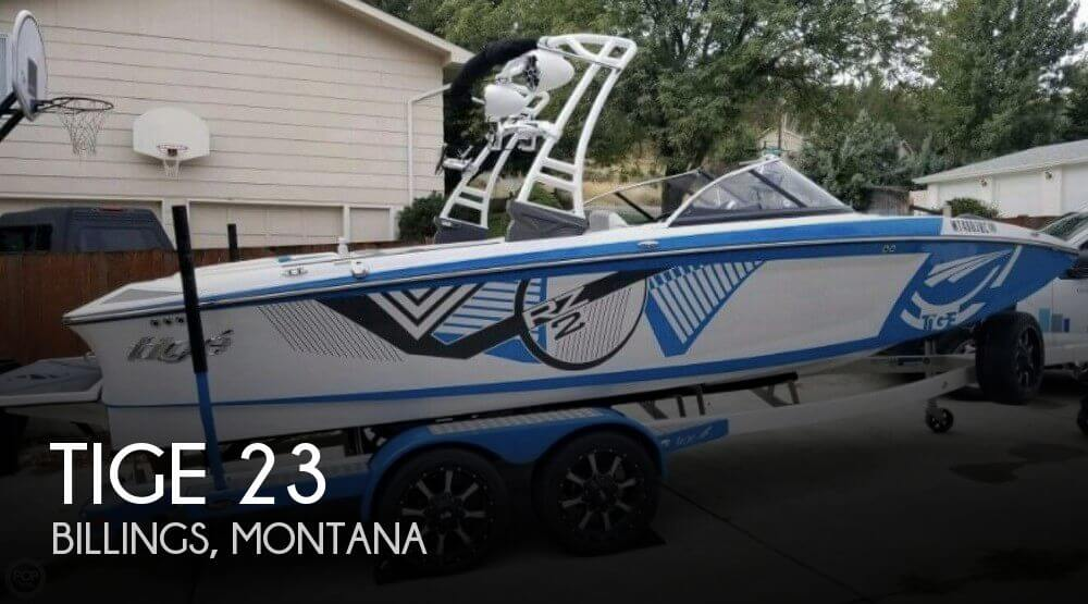 Used Power boats For Sale in Billings, Montana by owner | 2016 Tige 23