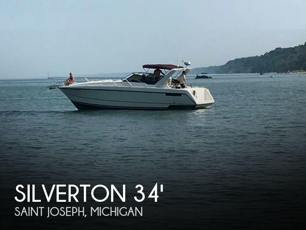 Used Silverton Boats For Sale in Michigan by owner | 1990 Silverton 34