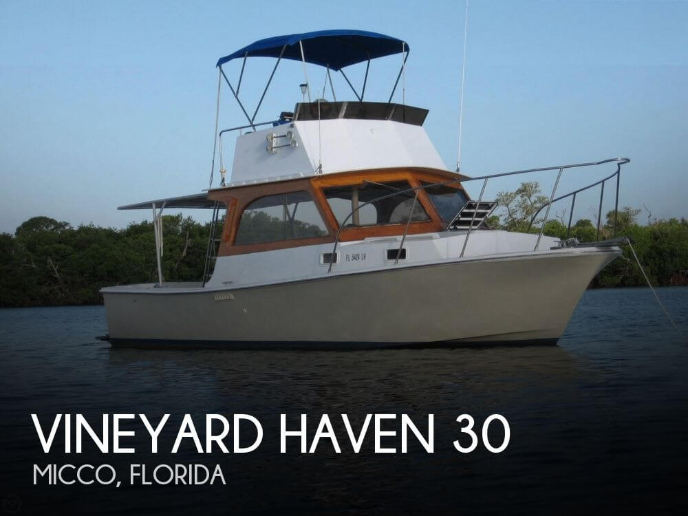 Used Fishing boats For Sale in Orlando, Florida by owner | 1979 Vineyard Haven 30
