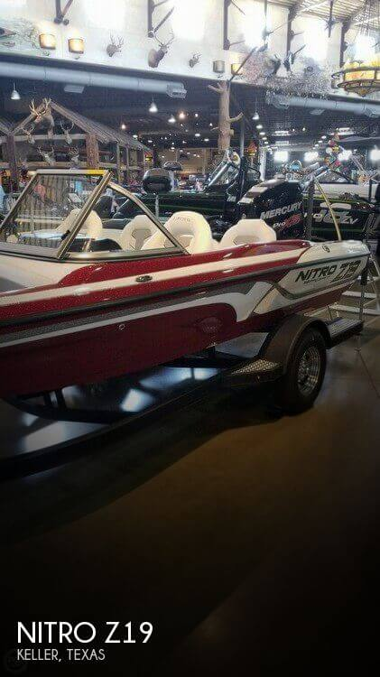 Used NITRO Fishing boats For Sale by owner | 2017 Nitro 22