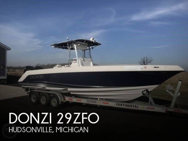 Used Boats For Sale in Grand Rapids, Michigan by owner | 2004 Donzi 29