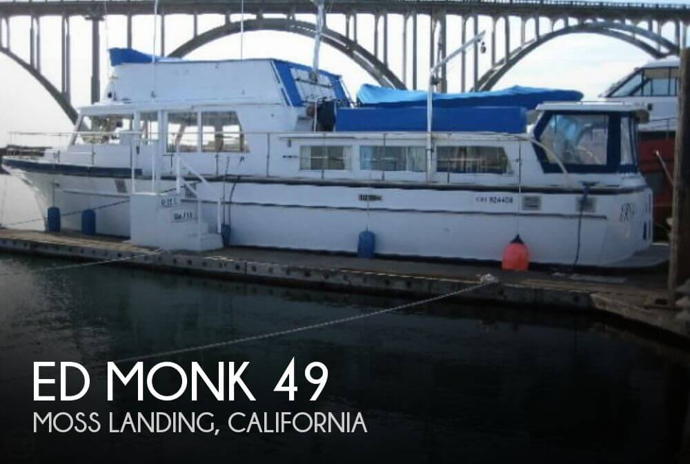 Used Boats For Sale in Santa Cruz, California by owner | 1965 Ed Monk 49