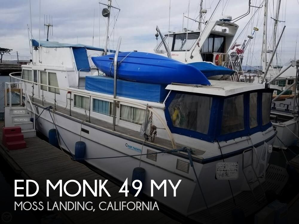 1965 Ed Monk boat for sale, model of the boat is 49 MY & Image # 1 of 40