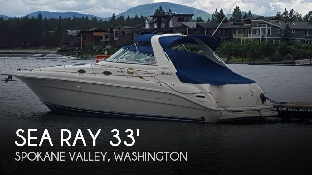 Used Sea Ray Boats For Sale in Washington by owner | 1995 Sea Ray 33
