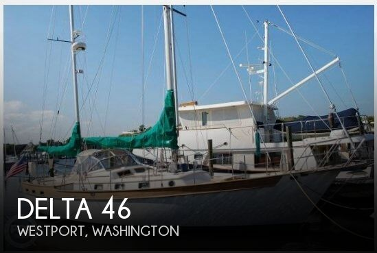 Used Sailboats For Sale in Washington by owner | 1982 Delta 46